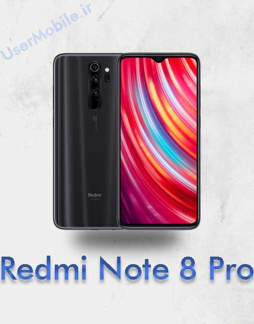 گوشی شیائومی ردمی نوت 8 پرو Xiaomi Redmi Note 8 Pro Black Gray Color رنگ مشگی