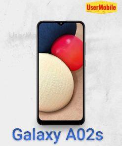 رنگ بندی گوشی سامسونگ گلکسی Galaxy A02s رنگ مشکی